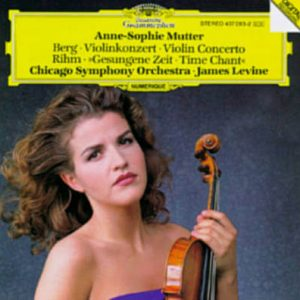 Anne-Sophie Mutter Berg - Violinkonzert, Rihm - Gesungene Zeit