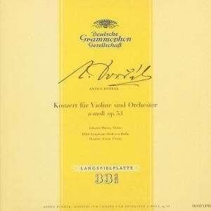 Anton Dvorak - Konzert für Violine und Orchester a-moll op.53 Johanna Marrtzy, Ferenc Fricsay