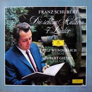 Franz Schubert - Die schöne Müllerin Fritz Wunderlich, Hubert Giesen