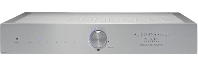 Audio Analogue Puccini Settanta Rev 2.0 integrated amplifier