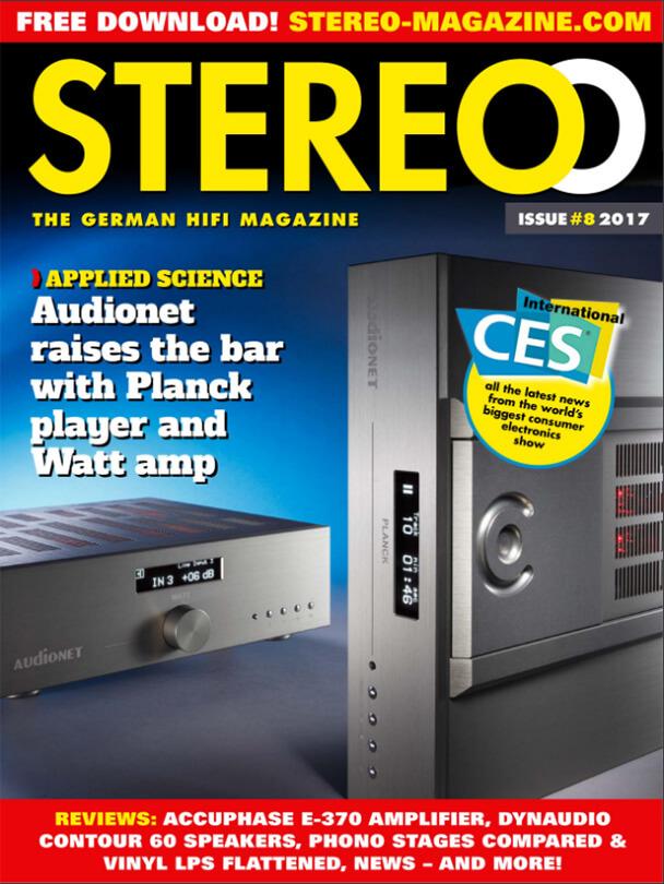 Stereo Magazine címlap
