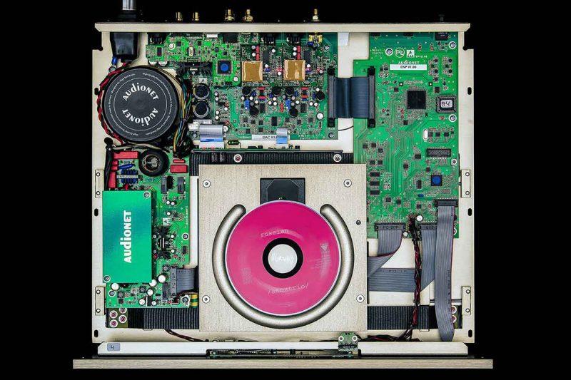 Audionet Planck belső 2017