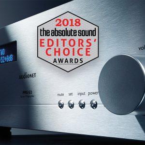 Audionet PRE G2 előerősítő TAS