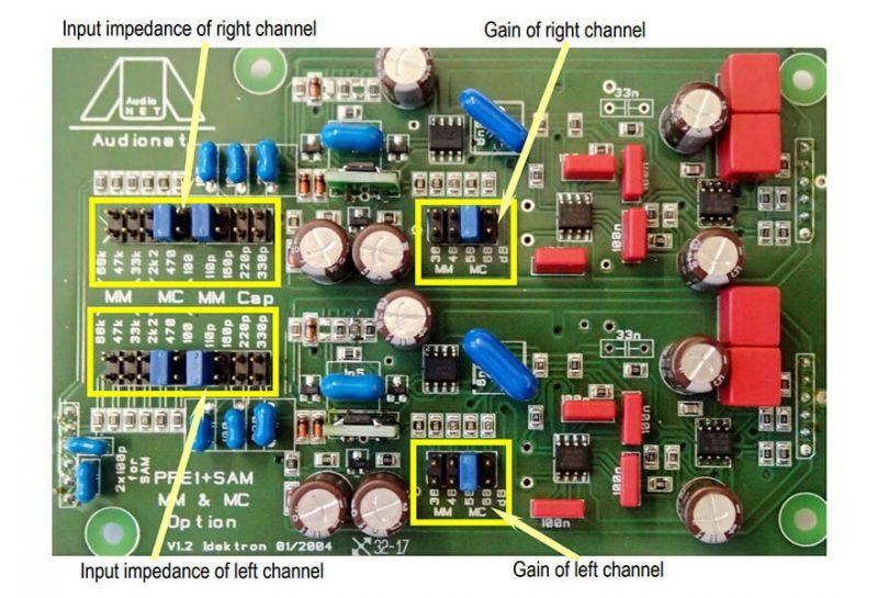 Audionet SAM 20 SE integrált erősítő, Belső